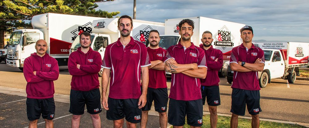 Posch and Silva Removals Team